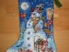 Bluemar – Snowman and Friends Stocking
