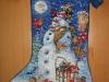 Bluemar mamka –  Snowman and Friends Stocking