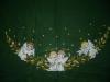 Ivaver - Holly angel tree skirt