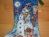 Bluemar – Snowman and Friends Stocking